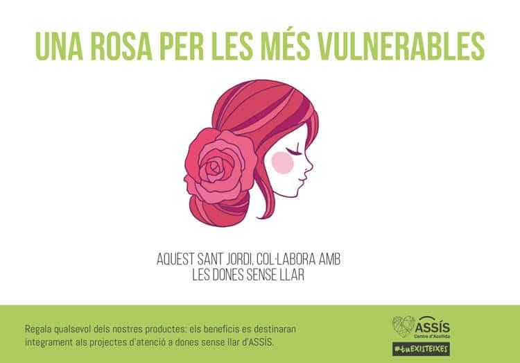 Una rosa per les més vulnerables